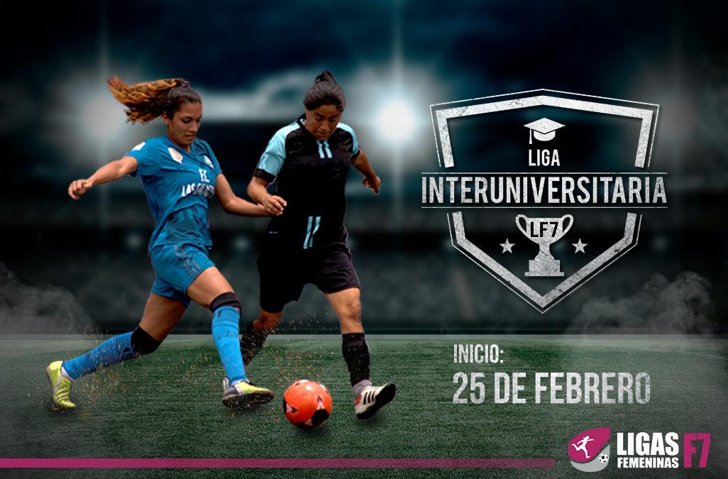 Liga Inter Universitaria – LF7 2018