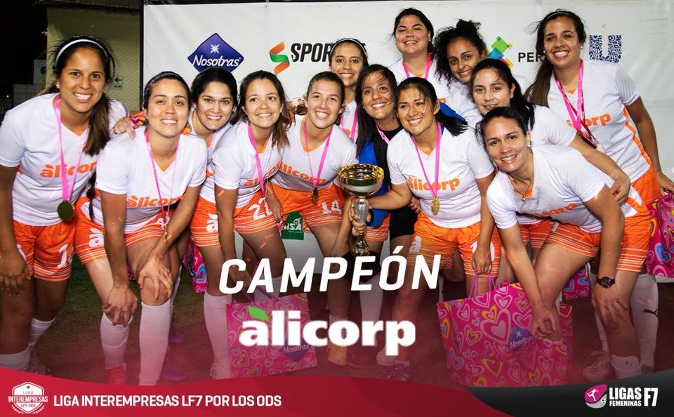 Alicorp campeón lf7
