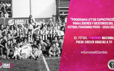 Concurso Nacional para el crecimiento del fútbol femenino