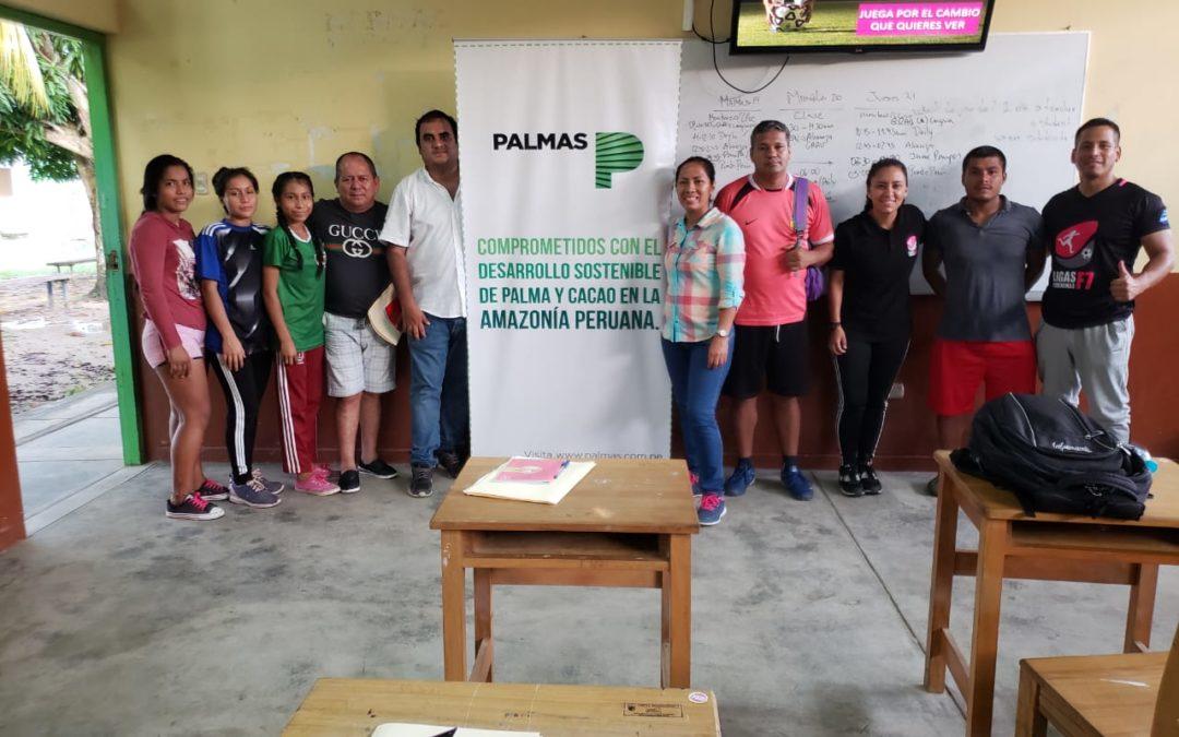 LF7 y Grupo Palmas capacitan a entrenadores de Loreto y San Martín en la práctica del fútbol