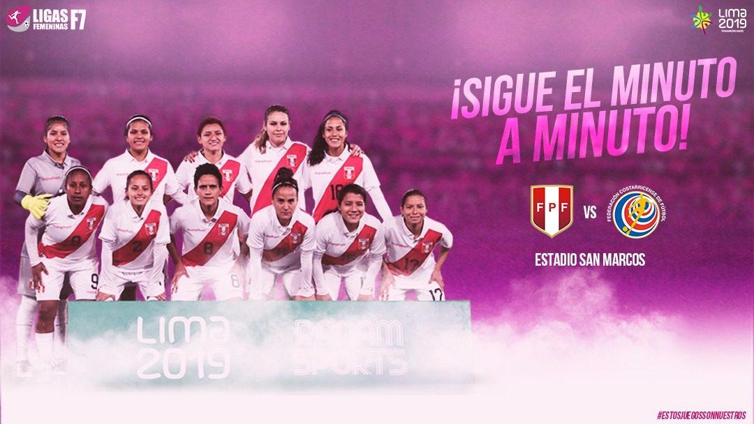 Final   Perú – Costa Rica   Grupo B