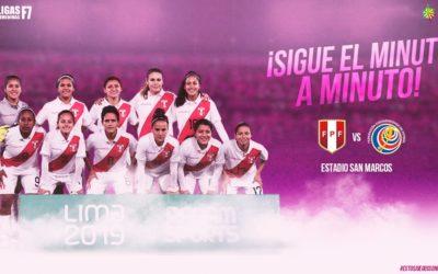 Final | Perú – Costa Rica | Grupo B