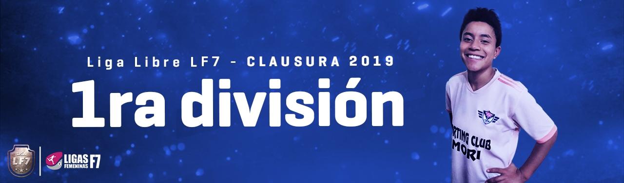 primera división lf7 2019