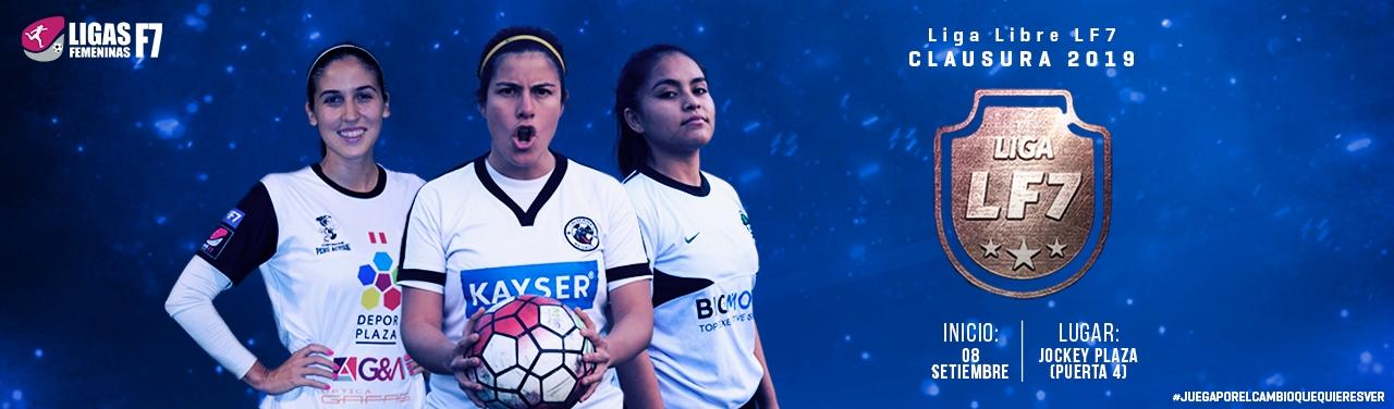 liga libre clausura lf7 2019