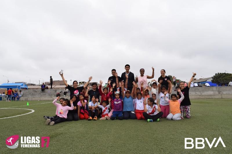 BBVA y LF7, una alianza para empoderar a niñas y mujeres