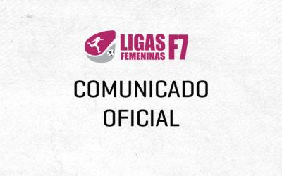 Comunicado Oficial LF7 – Sobre el COVID-19