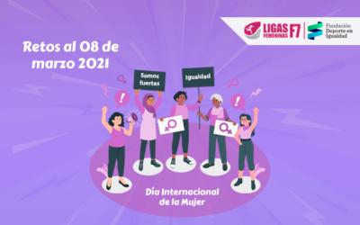 ¿Retos al 08 de marzo de 2021? Incrementar la participación femenina en el deporte y la actividad física del Perú