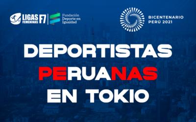 Deportistas peruanas clasificadas a Tokio 2020